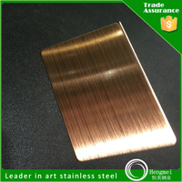 Best Selling Items 304 Hairline Stainless Steel for Living Room Design