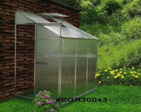 Walk in Hobby Greenhouse with polycarbonate Panel,modern villa green house