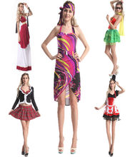 wholesalers dropship instyles 1920s Ladies Sexy Hippie costumes Roman costume Ladies fancy dress manufacturers
