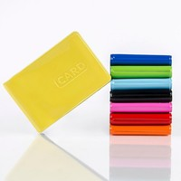 2015 promotion gifts PVC credit card holder or PVC business card holder,name card holder