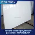 Crystallized blanco marmoglass, Crystallized panel de vidrio