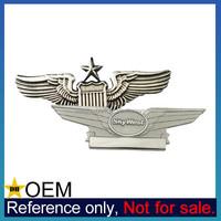 Wholesale Custom US United States Air Force Metal Pilot Wings Lapel Pins