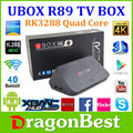 Home smart tv caixa rk3288 quad core 2g/8g r89 4k xbmc receptores de tv
