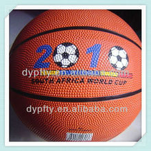 BB-R7#O Rubber basketball for promotion item