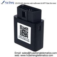 gps obd 2 car tracker [2G, 3G, 4G] support temperature sensor