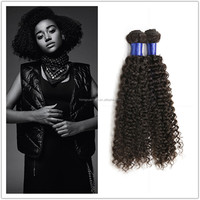 Hongyuan Factory Direct Supply Wholesale Bulk Hair Weave Hot Sale Chinese Kinky Curly Hair