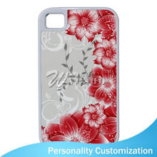 2D Sublimation Blank Phone Case for Iphone 4 mobile phone armband case for Iphone