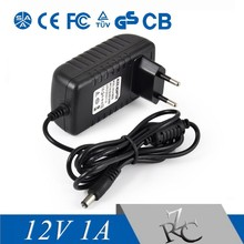 12v 1a power adapter Eu type power adapter ac/dc switching power adapter