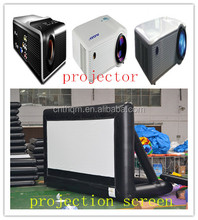 projector screen,standing inflatable front or rear projection screen