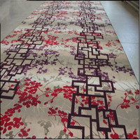 80% wool &20% nylon Axminster carpet