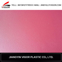 Hot selling elastic leather for making shoes, pvc leather for shoes