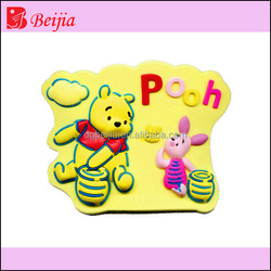 3D soft pvc fridge magnet with any design
