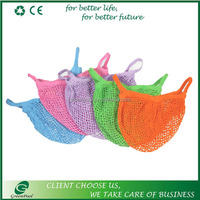 Many colors fashion vegetables fruits bags cotton net bag