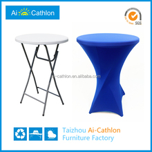 Outdoor catering party high bar table covers and chair