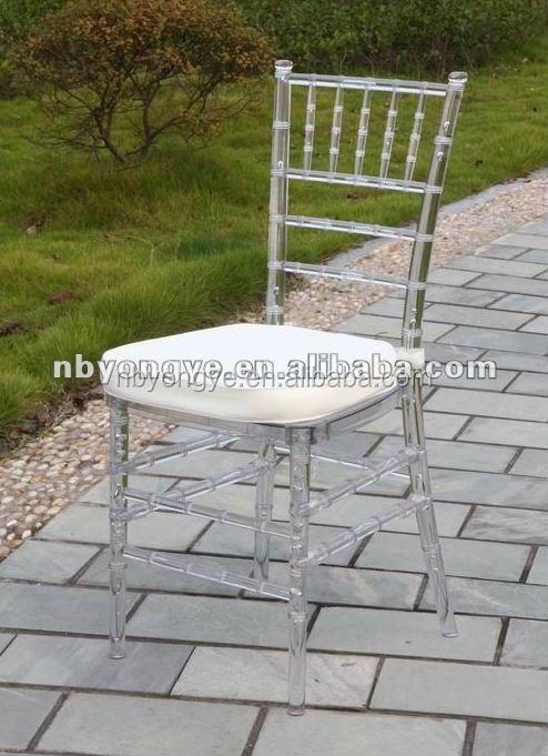 clear wedding resin tiffany chair