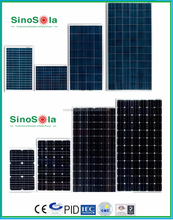 Good price mono/poly solar panel per watt made of high efficiency A-grade crystalline cells