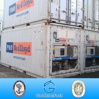 Shanghai Carrier reefer container used reefer container for sale