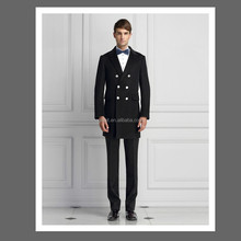 2015 cheap men's designer winter black wool coat