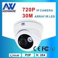 2015 New Product 30M IR Leds Web Camera Megapixel HD 720P IP Network CCTV Camera