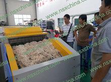 Advanced brand new fabric cotton waste /hosiery and denim /hard waste recycling machine