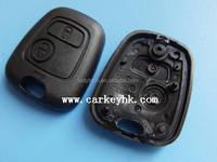 Peugeot car remote key 2 button replacement key shell wholesale
