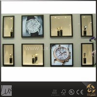 Elegant jewelry and watches retail shop interior design