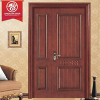 Customized Unequal Double Leaf Door (Mother and Son Doors), Standard Size 1200x2050x150mm