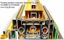 JH1111 ISO9001 cerfitication fiberglass frp composite I profiles, H beams