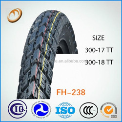 high quality 3.00-18 motorcycle tyres made in china