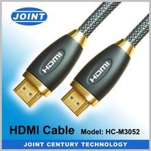 Prefect metallic hdmi cable with 24K gold plated support 2.0V
