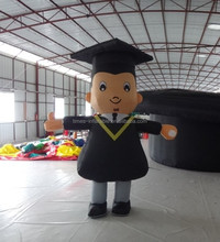 High quality custom-made inflatable moving cartoons
