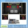 Professional wireless full color Basketball scoreboards and basketball shot clock