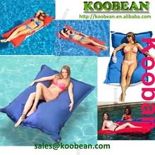 luxury pool beanbags floats equipment,Giant pool beanbag bed water float