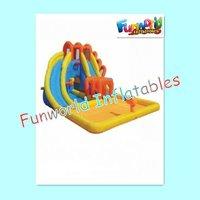 2012 new design big water slides inflatable (sl-559)