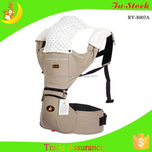 Factory supply derectly leather baby carrier
