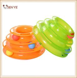 New Model Sound Pet Toys Crazy Cat Toy Round Ball Dog Toy