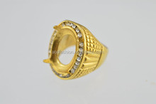 Crazy selling Indonesia stainless steel ring models ring stone for men