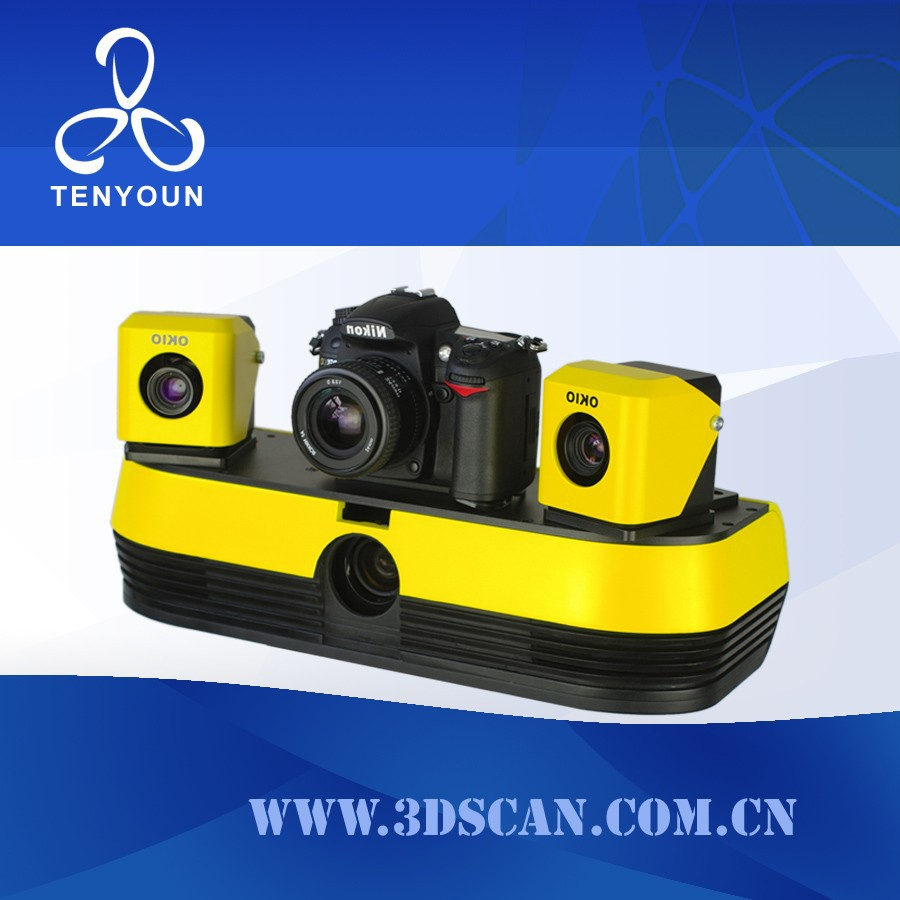 Cost effective TianYuan true color 3D scanner 3d foot scanner