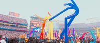 mini desktop inflatable air dancer/sky dancer,mini inflatable air tube man