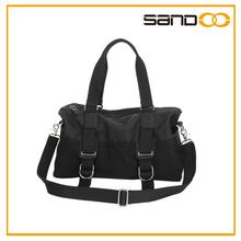 hombre informal bolso elegante de lienzo negro, alibaba habiente usa bolso 2014 bolsa de mano