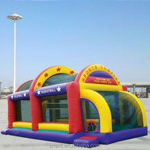 mini inflatable bouncy fun city for kids