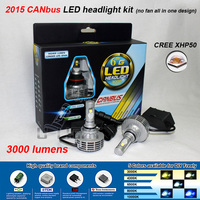 2015 Newest G6 Super Bright CANBUS LED Auto Headlight 9004 9005 9006 9007 9012 H4 H7 H8 H10 H11 H13 H16 5202 LED Headlight Bulbs