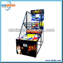 leisure time basketball shooting game
