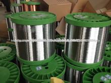 0.20mm, 0.21mm alambre de hierro galvanizado con zinc de alta para la esponja