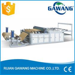 Servo Motor Control Paper Bag Paper Reel Cross Sheeting Machine