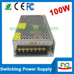 2 years warranty Constant voltage 12v 100w led switching power supply with CE RoHS