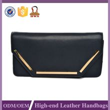 Export Quality Custom Printed Women Leather Clutch Bag