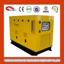 50HZ 3 phase brushless silent diesel generator 15kva with CE approved