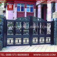 Cheap wrought iron door ,home used wrought iron door gates