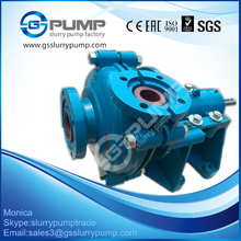 DC electric motor and expeller seal Small Slurry Pump for Gold Mining